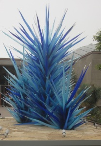 The Chihuly Exhibit at the Denver Botanic Gardens