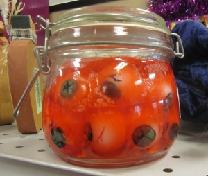 More pickled eyeballs