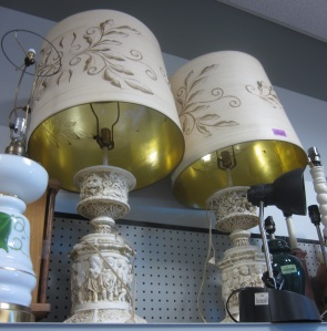 Oh these lamps!