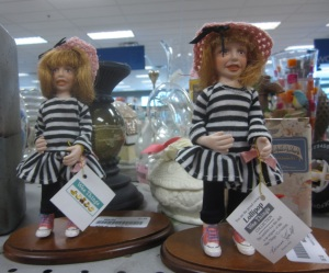 Terrifying dolls