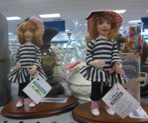 Terrifying dolls