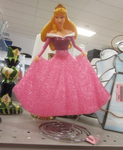 Plastic Princess lamp