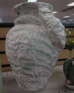 Ugly, lumpy vase