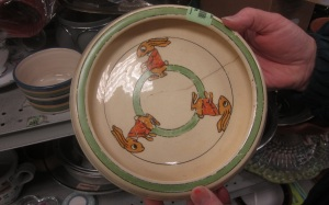 Bunny Child's plate