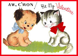 Cat and Dog Valentine