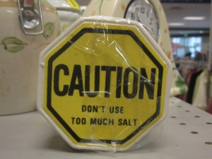 Caution Salt!