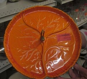 Orange Vintage Tray