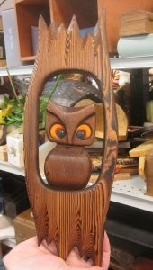 another wooden owl