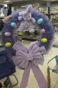 Purple Easter Wreath