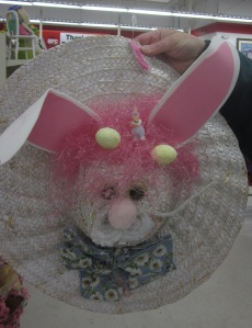 Rabbit hat wreath