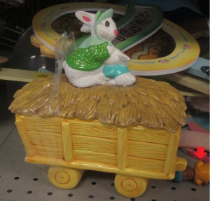 Rabbit in the haystack covered dish