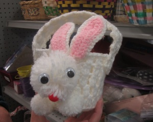 Yarn Bunny Basket