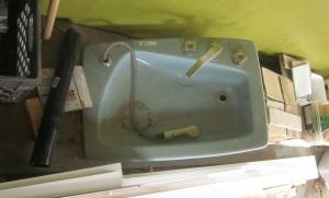 Blue Vintage Sink