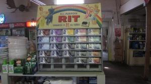 Rit Dye Display