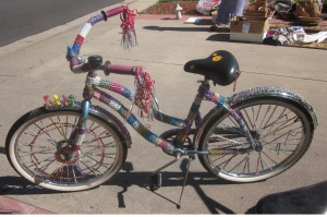 Bedazzled Bike 1