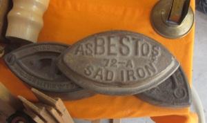 asbestos iron