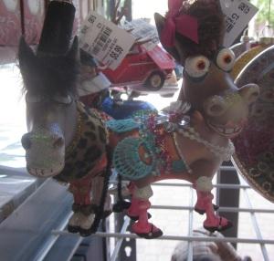Blinged out donkey