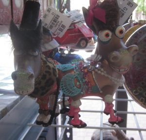 Blinged out donkey