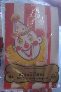 Clown Tablecloth