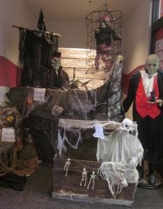 ARC Halloween Display