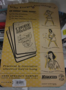 Korkies Chore Board