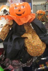 Plastic Pumpkin Clown