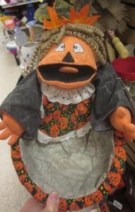 Screaming Pumpkin Woman Bowl1