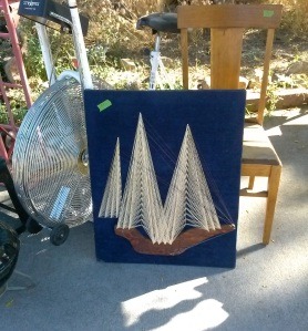 3D string art for 10 and the chair is 4