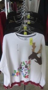 Ugly Christmas Sweater Reindeer Style