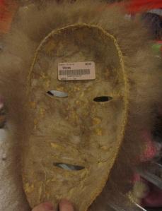 back of mask