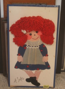 Giant Fabric Raggedy Ann