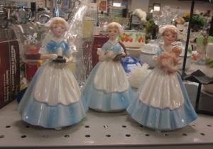 Nurse statues