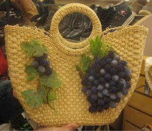 Pine cone purse