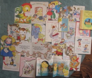 1930s and 1940s Birthday Cards