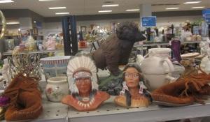 Least sensitive ethnic display