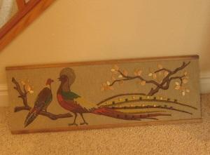 Fabric Chinese Pheasants