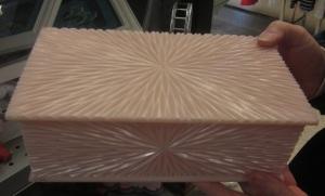 Fancy Pink Plastic Box