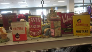 Pricey old tins
