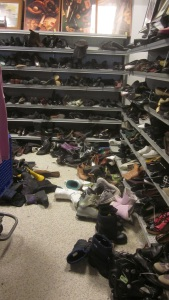 Shoe Sale at Goodwill