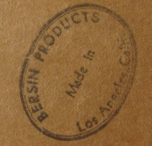 Bersin Products mark