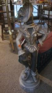 Conquistador lamp base