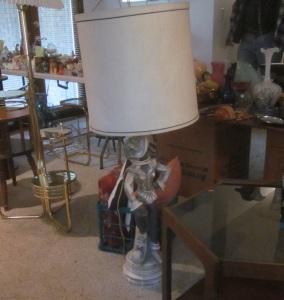 Conquistador lamp