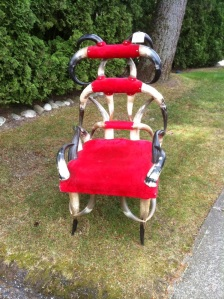 horny chair Kari Stackhouse