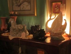 Animal TV lamps