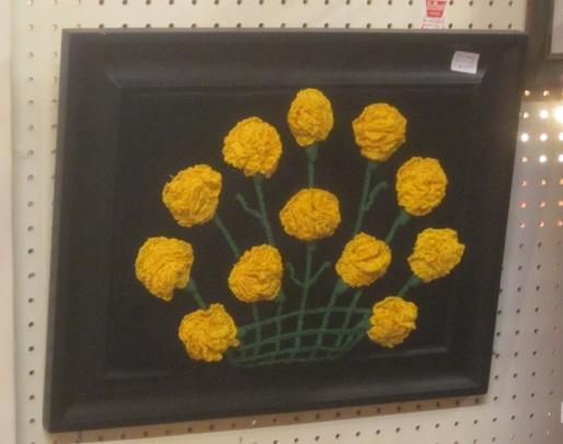 Yellow marigolds of TX