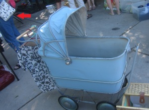 Metal Baby Buggy