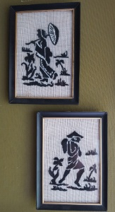 Embroidered Chinese couple2