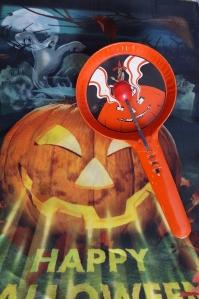 T Cohn Vintage metal Halloween noisemaker