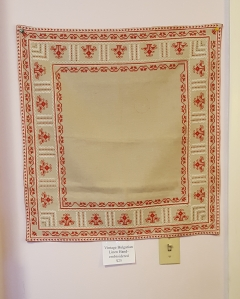 Bulgarian Embroidered Linen