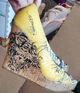 Ed Hardy Shoes side
